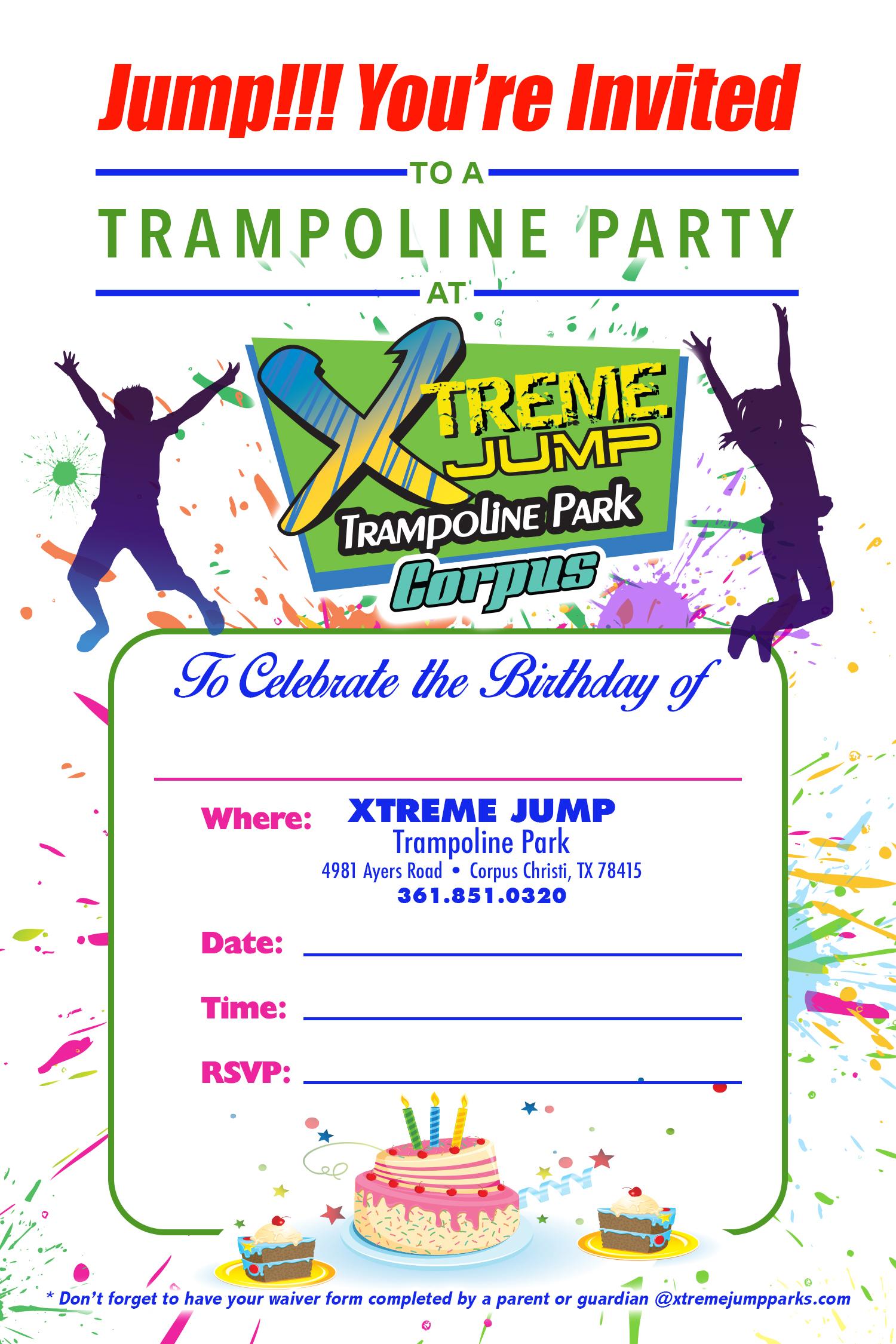 Corpus Christi Party Xtreme Jump